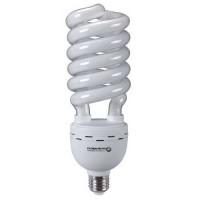 Ampolleta bajo consumo espiral 65W E27 luz blanca 3500lm 330° 8000hr Globaltronics